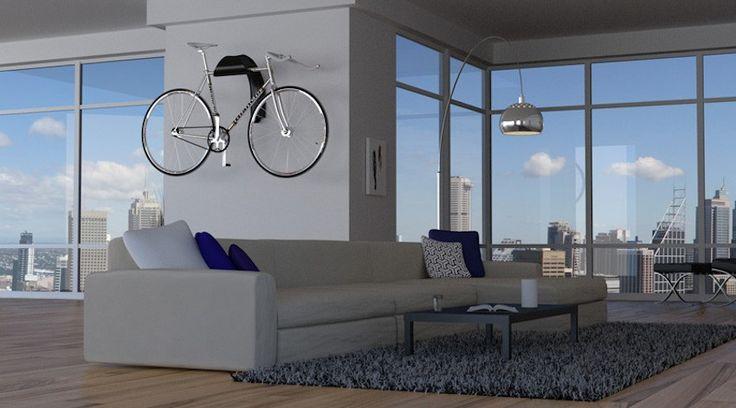 El diseñador australiano Rob Magee ha creado Arc Bicycle Display Rack, un soporte para bicicletas para lucir tu montura como una obra de arte.
