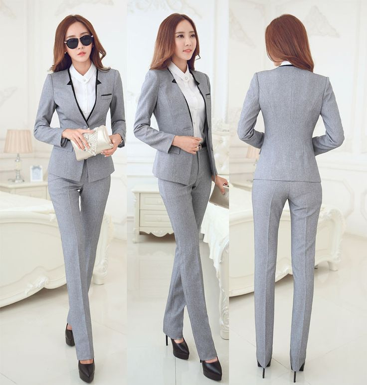 Best 25  Women's suit jackets ideas on Pinterest | Black office ...