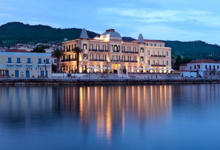 Poseidonion in Spetses, Greece