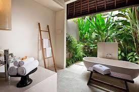 balinese bathroom, inside/outside