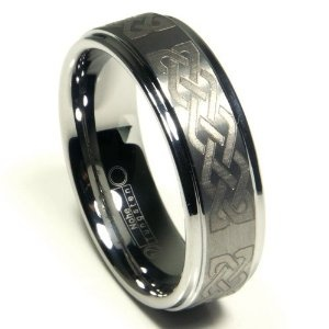 Tungsten Carbide 8MM Wedding Band Ring w/ Laser Etched Celtic Knot Design Sz 13.0 SN#612 (Jewelry)  http://www.1-in-30.com/crt.php?p=B002DOPHVS  B002DOPHVS: Celtic Knot Designs, Tungsten Carbid, Etchings Celtic, Wedding Band Rings, Celtic Rings, Carbid 8Mm, Wedding Bands, Jewelry Worth, Laser Etchings