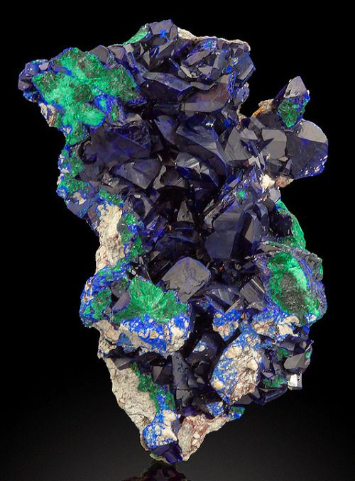 Azurite and Malachite from Arizonaby Exceptional Minerals