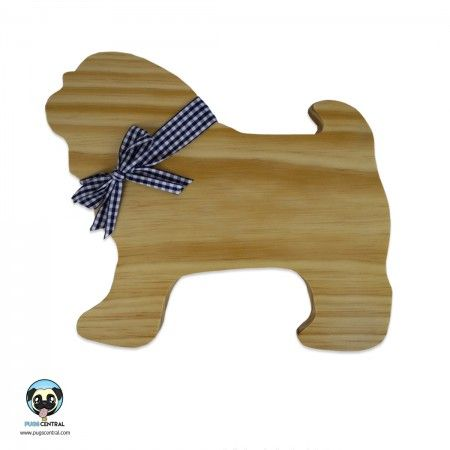Pug Bread Board