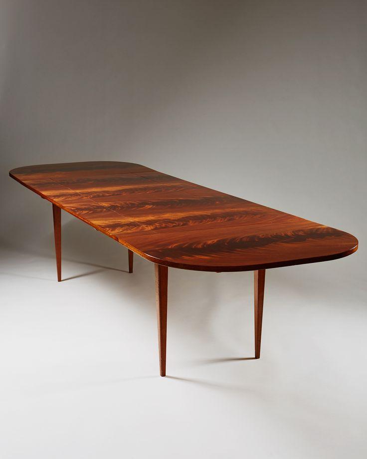 Josef Frank Mahogany Dining Table for Svenskt Tenn 1940  : 4f490506a151507673e336d0b0d44b5b mahogany dining table dining tables from www.pinterest.com size 736 x 920 jpeg 36kB
