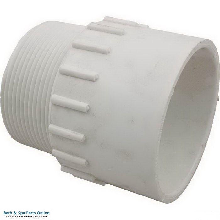 "Lasco SCH40 MIP PVC Adapter [3"" Slip x MPT] (436-030)"