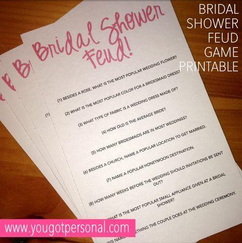 Best 25 Bridal Shower Questions Ideas On Pinterest