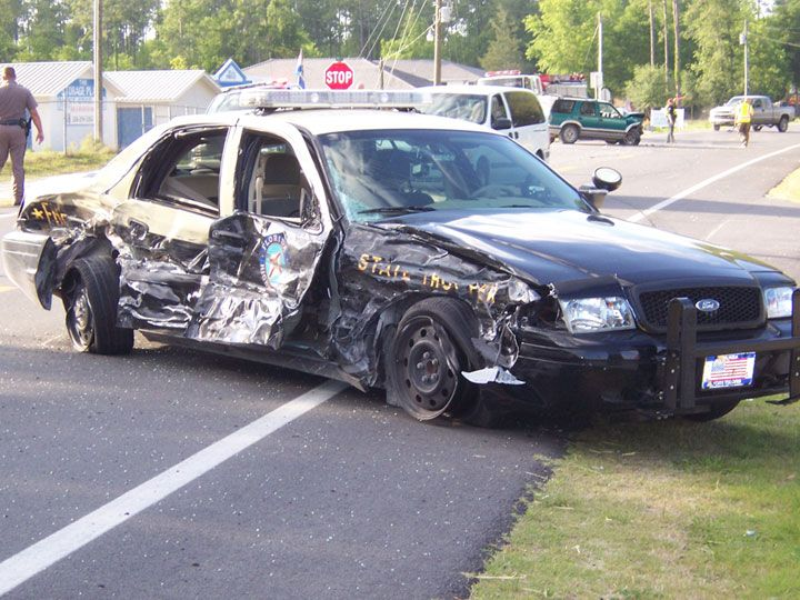 Police Car Chase Accidents, Crash Pictures,Police Chase Wreck, Crash