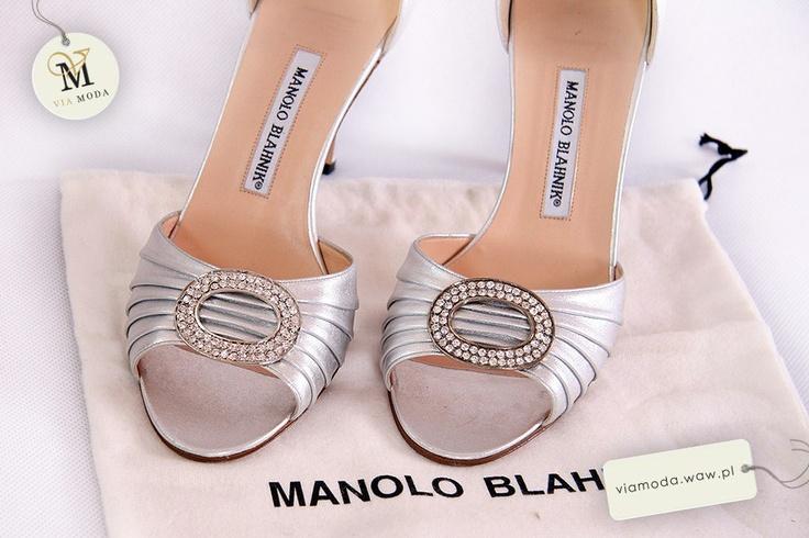 VIA MODA - buty Manolo Blahnik