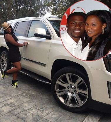 """Kevin Hart Buys Ex-Wife Torrei Hart A New Car: """"Shout Out To My Baby Daddy"""""""