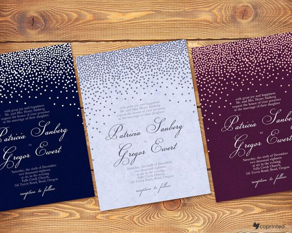 Free Wedding Template Customize And Invitations Templates Printable In 2018 Pinterest