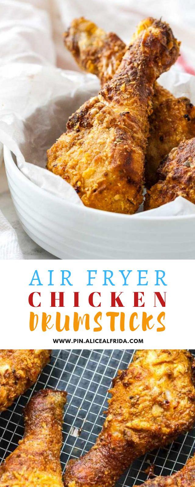 Air Fryer Chicken Drumsticks Air fryer recipes
