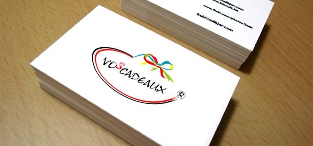 Voscadeaux, pembuatan Kartu nama, kalender, katalog dan brosur