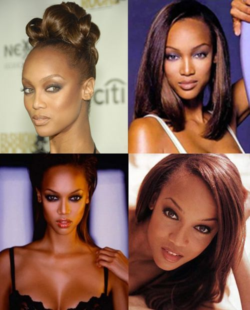 Supermodel Signatures: What Makes a Model Stand Out From the Crowd: Tyra Banks's Forehead    Tyra Banks used to get teased for her big forehead--wonder who's laughing now? In addition to being one of the most successful model-moguls ever, Ty-Ty recently graduated from Harvard's School of Business. Which might explain why she needed all that extra room up there--girl's got massive brains.