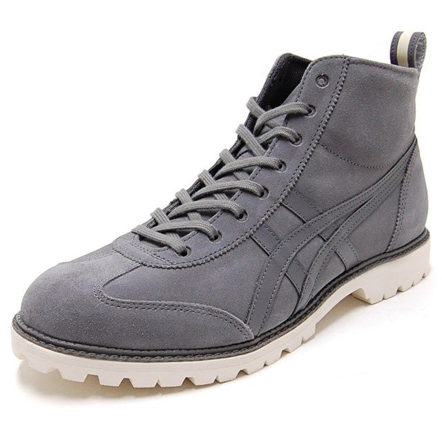 Onitsuka Tiger ONITSUKA Tiger men's women's sneaker BOOT RINKAN Lincoln boots grey / gray TH2E 0L-1111 [national authorized dealer]