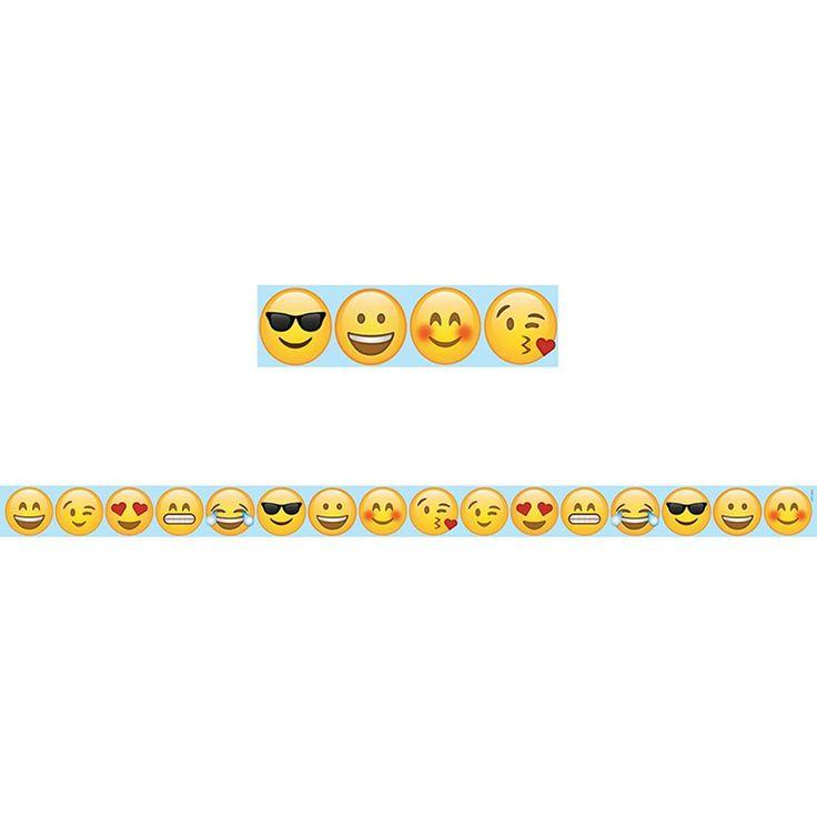 Large Emoji Fun Magnetic Door Strip $10.99