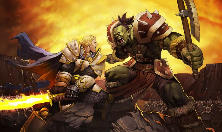 World Of Warcraft Thrall Garrosh Hellscream Wallpapers HD