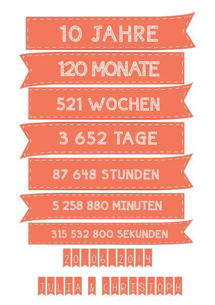 25 Best Ideas About 10 Hochzeitstag On Pinterest
