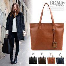 Fashion Handbags Ladies Women Shoulder Tote Satchel Cross Body Faux Leather Bags