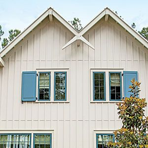17 best ideas about vertical siding on pinterest cottage for Cottage exterior siding ideas