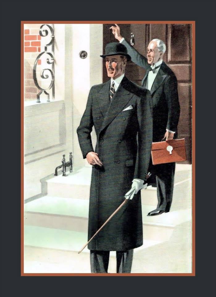 Dapper Gents: Thexton & Wright Tayloring Firm Catalog, UK 1940's. https://www.pinterest.com/christ3091/vintage-clothing/