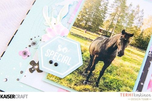 'Perfect Min-ibook' [view d] by Terhi Koskinen Design Team member for Kaisercraft Official Blog. Featuring their 'Wildflower' collection [March 2017] Learn more at  kaisercraft.com.au/blog  ~ Wendy Schultz  ~  Mini Albums.