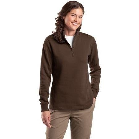 Sport-tek Ladies 1/4-zip Sweatshirt 4xl - Brown Sport-Tek. $28.78. Save 20%!