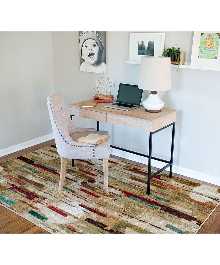 This durable-yet-gorgeous nylon rug will perform double duty at your home as it protects your floors from tracked-in dirt and grime while also adding a lovely accent.