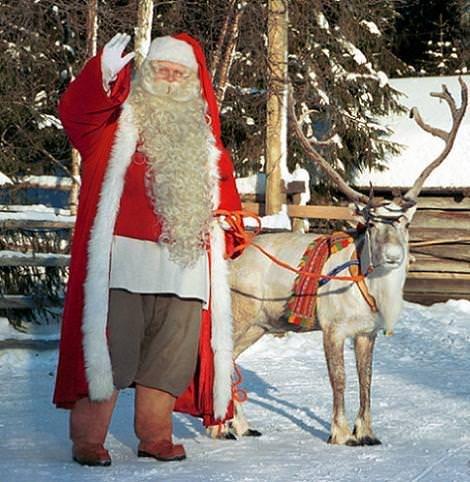 Mensaje de Papa Noel a los niños 2012