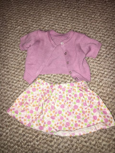 Kit Kittredge Classic Meet Outfit sweater and skirt