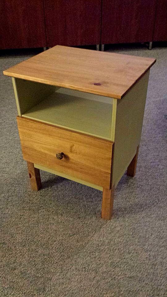 Ikea painted tarva nightstand ikea hacks pinterest ikea for Table appoint ikea