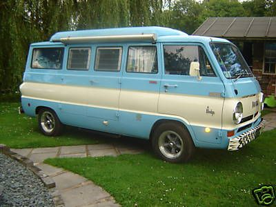 1968 Dodge van. My dad has a '67 that he bought new. It was a regular van, not the camper. same color as this one though. Now it's a parts vehicle for his '69 dodge van.
