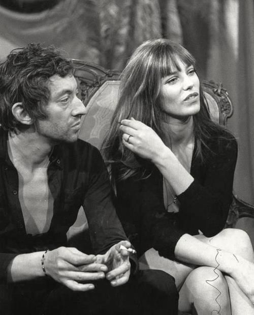 Serge Gainsbourg and Jane Birkin                                                                                                                                                                                 Plus