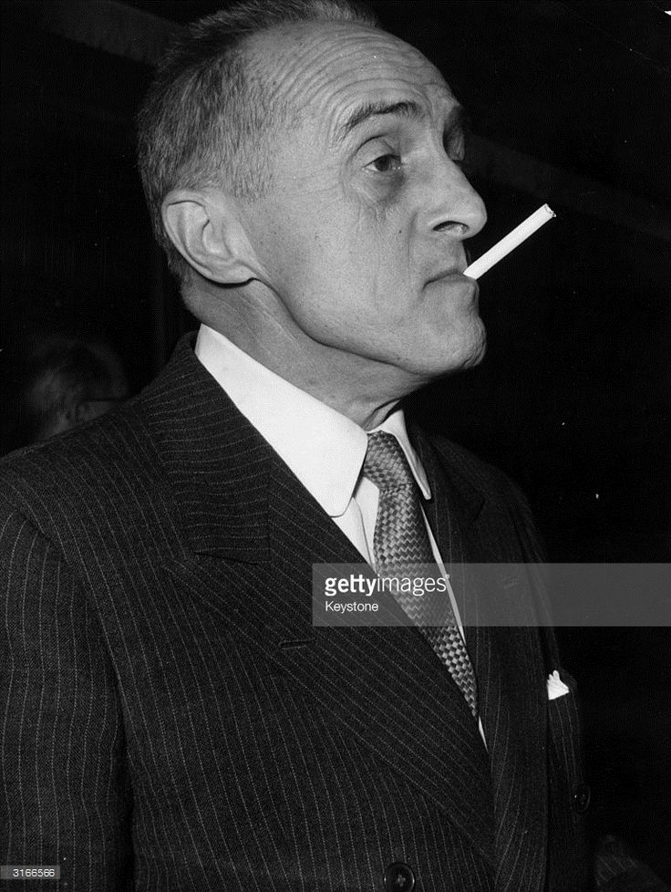 French film director Rene Clair (Rene (Chomette) (1898 - 1981)