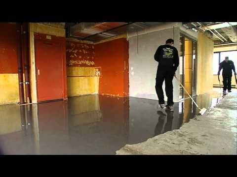 Hoe breng je een epoxy vloer coating aan? - Weber - YouTube