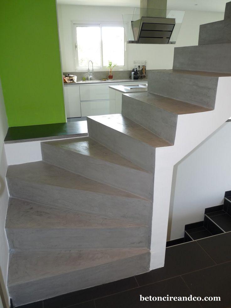 17 best ideas about escalier en beton on pinterest - Escalier beton lisse ...