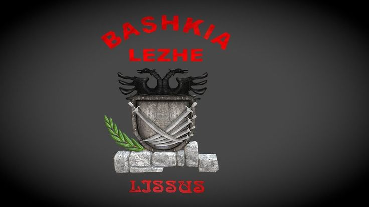 Emblema E Bashkise Lezhe 3D
