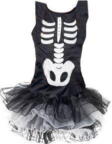 Nos ha enamorado este disfraz de esqueleto con tutú <3 <3 <3