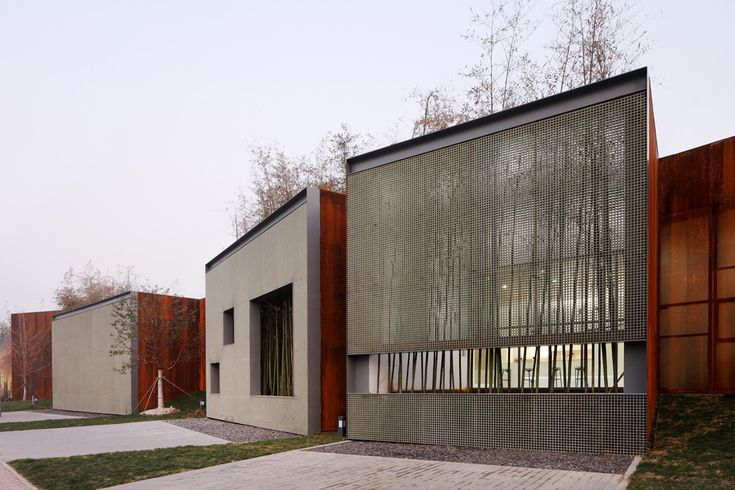 Momentary City - CR Land Hefei Dongdajie Sales Pavilion,© Shuhe Photo & Vector Architects