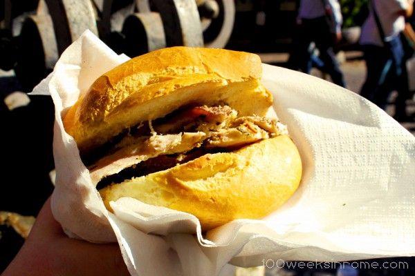 Porchetta Sandwich in Perugia