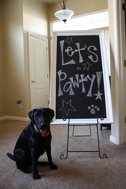 Dog Birthday Party...so doing this for Hank this year!