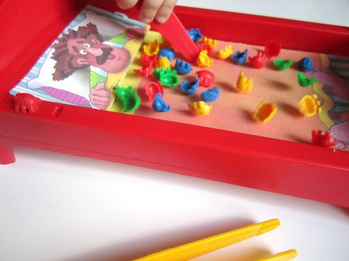 Milton Bradley BedBugs Game.  How ironic that bedbugs are a problems again these days given that we played with plastic bedbugs as kids.