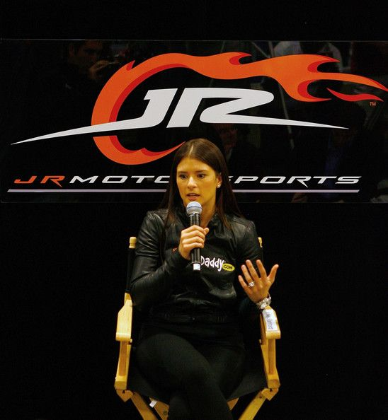 Danica Patrick Photos Photos - Danica Patrick, driver of the #7 GoDaddy.com Chevrolet speaks at JR Motorsports on December 17, 2009 in Mooresville, North Carolina. - Danica Patrick at JR Motorsports