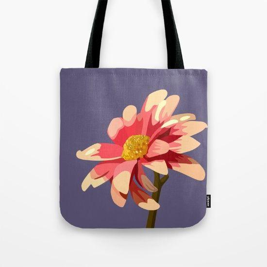 LAZY DAISY 01. Tote Bag by MESSYMISSY76
