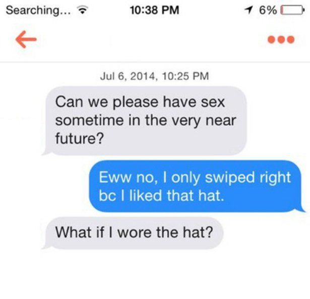 When Tinder Users Get Straight To The Point (29 images)