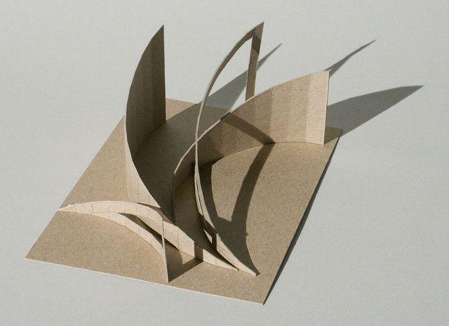 Kirby Benjamin Chipboard Study Model 1 View 2 | kirby_benjamin | Flickr
