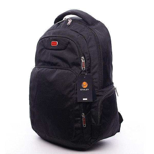 #taška #tůry Černý batoh Diviley se třemi prostornými kapsami a polstrovanou kapsou na 15'' notebook. Batoh má vyztužená záda, nastavitelné polstrované popruhy, několik kapes a postranní kapsy na láhve s pitím. Dopřejte si kvalitní a pohodlný batoh pro vaše tůry.