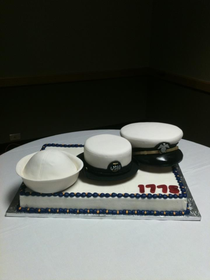 navy cake. kerwinscakes.com