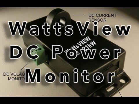 WattsView DC Power Monitor  http://prepperhub.org/wattsview-dc-power-monitor/