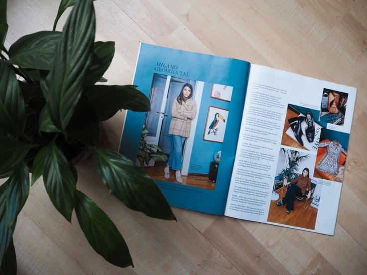 Obsessed with Italian fashion director Georgia Tal and her blue wall against her wooden floor. Deco desire from Swedish magazine Styleby.  Georgia Tal's blue walls http://gabriellalundgren.com/georgia-tals-blue-walls