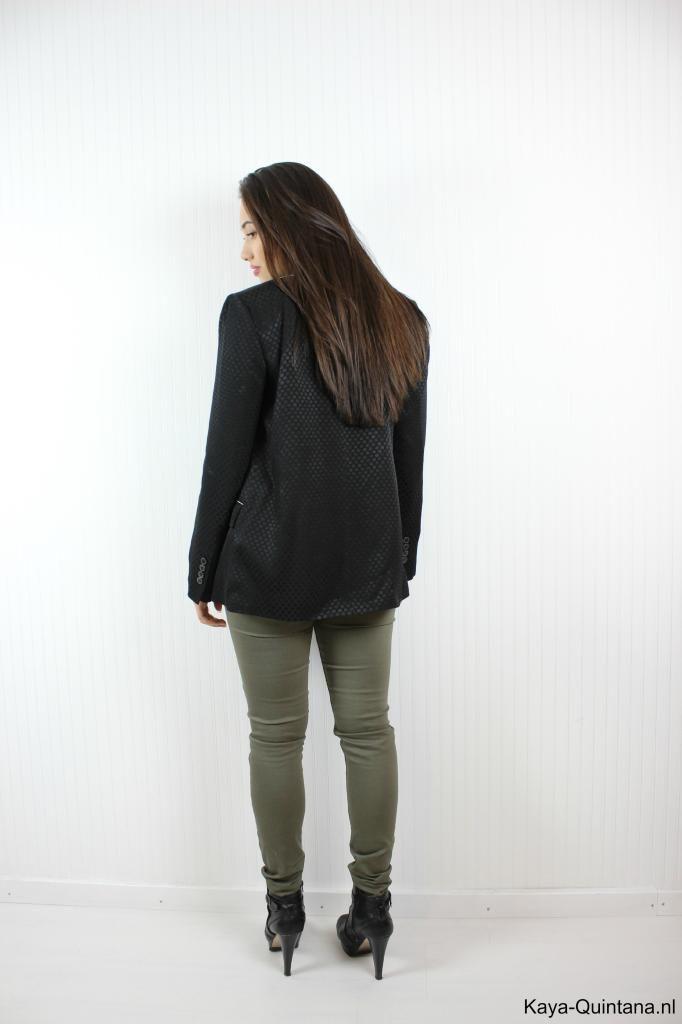 outfit met groene broek